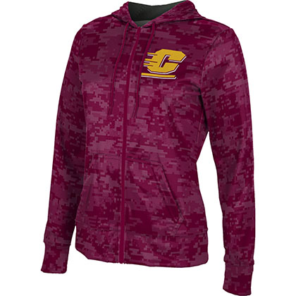 ProSphere Women's Central Michigan University Digital Fullzip Hoodie