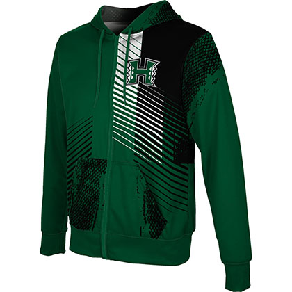 ProSphere Men's University of Hawaii Hustle Fullzip Hoodie