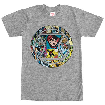 Avengers Widow Appreciation Gray Mens T-Shirt