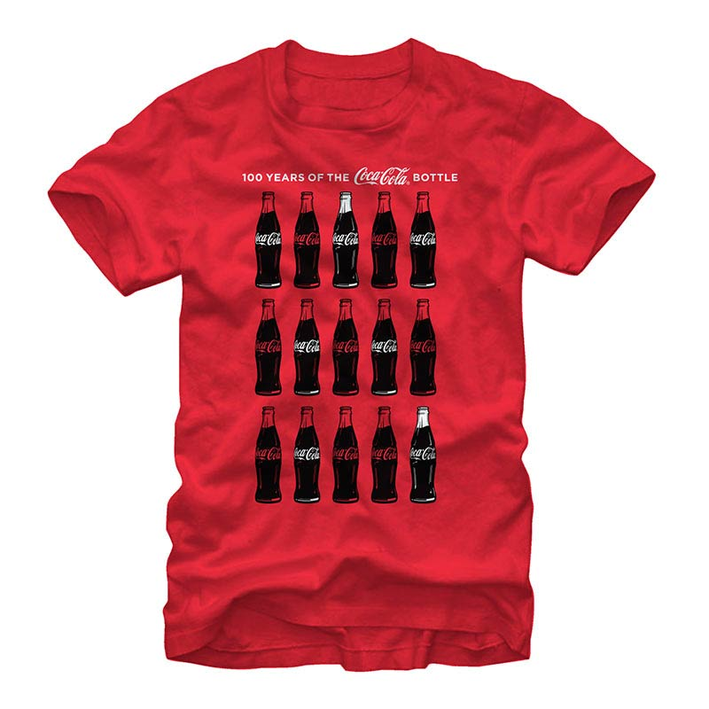Coca-Cola Coke Line Up Red T-Shirt