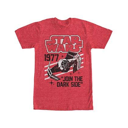 Star Wars Vader's Domain Red T-Shirt