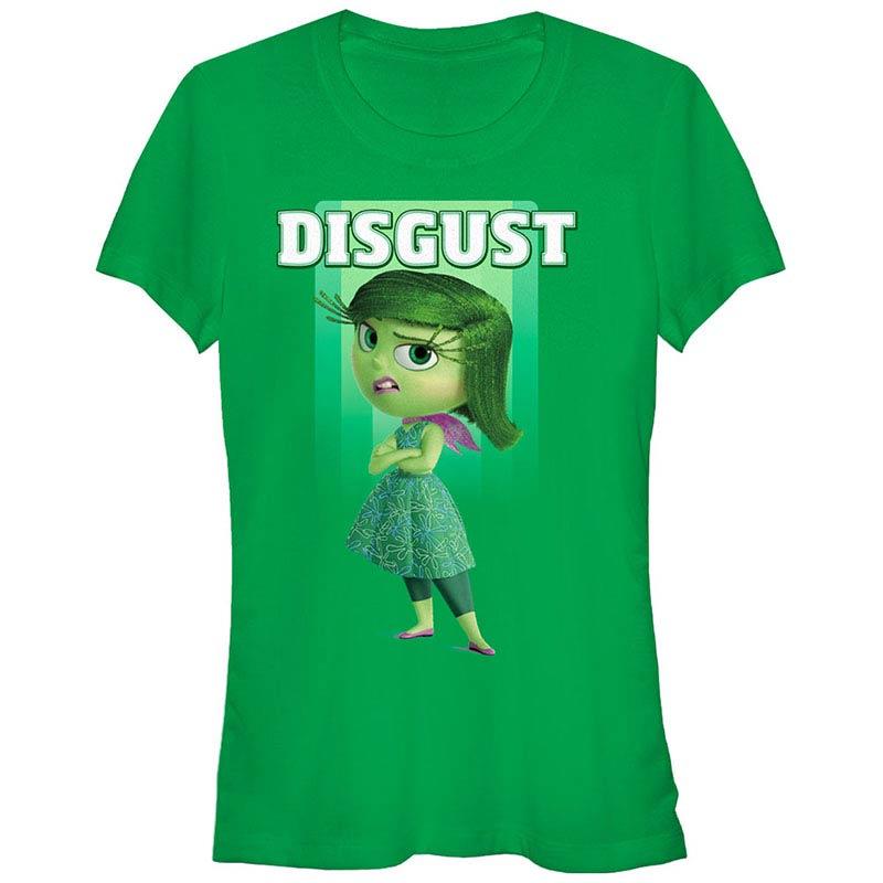 Disney Pixar Inside Out Disgust Green T-Shirt
