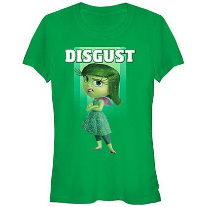 Disney Pixar Inside Out Disgust Green T-Shirt