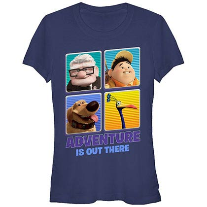 Disney Pixar Up Adventure Out Blue T-Shirt
