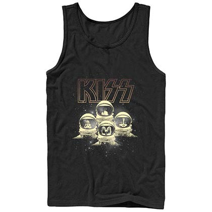 KISS-onauts Black Tank Top