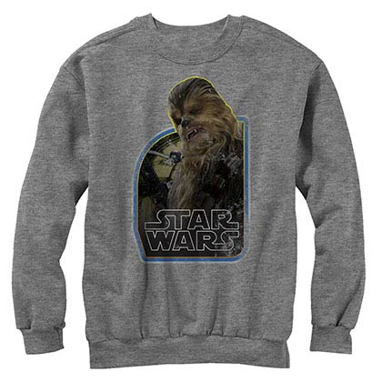 Star Wars Episode 7 The Wookie Gray Long Sleeve T-Shirt