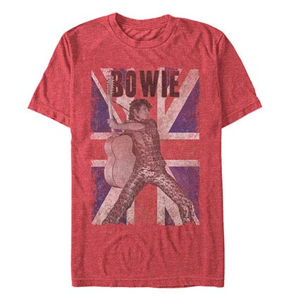 David Bowie Union Bowie Red T-Shirt