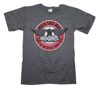 Aerosmith Men's Walk This Way T-Shirt