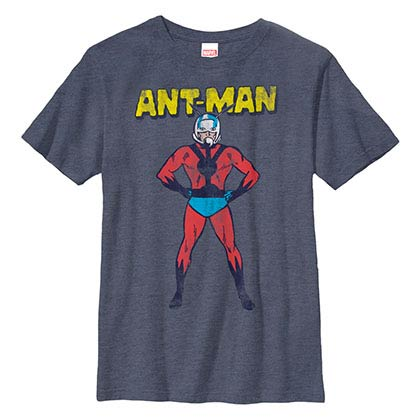 Ant-Man American Ant Blue Youth T-Shirt
