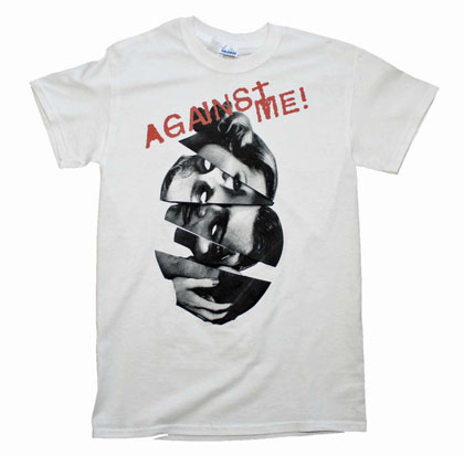 Against Me Heads Tee Shirt