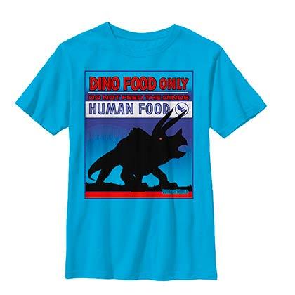 Jurassic World Do Not Feed Blue Youth T-Shirt
