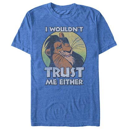 Disney Lion King Trustworthy Blue T-Shirt