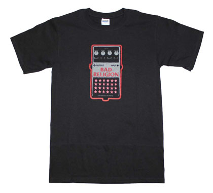 Bad Religion Guitar Pedal T-Shirt