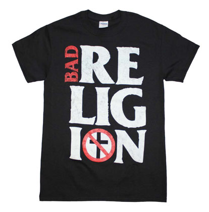 Bad Religion Stacked Logo T-Shirt