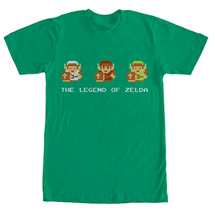 Nintendo Links Armor Green T-Shirt