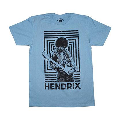 Jimi Hendrix Authentic Squares T-Shirt