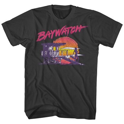 Baywatch Babewatch Tshirt