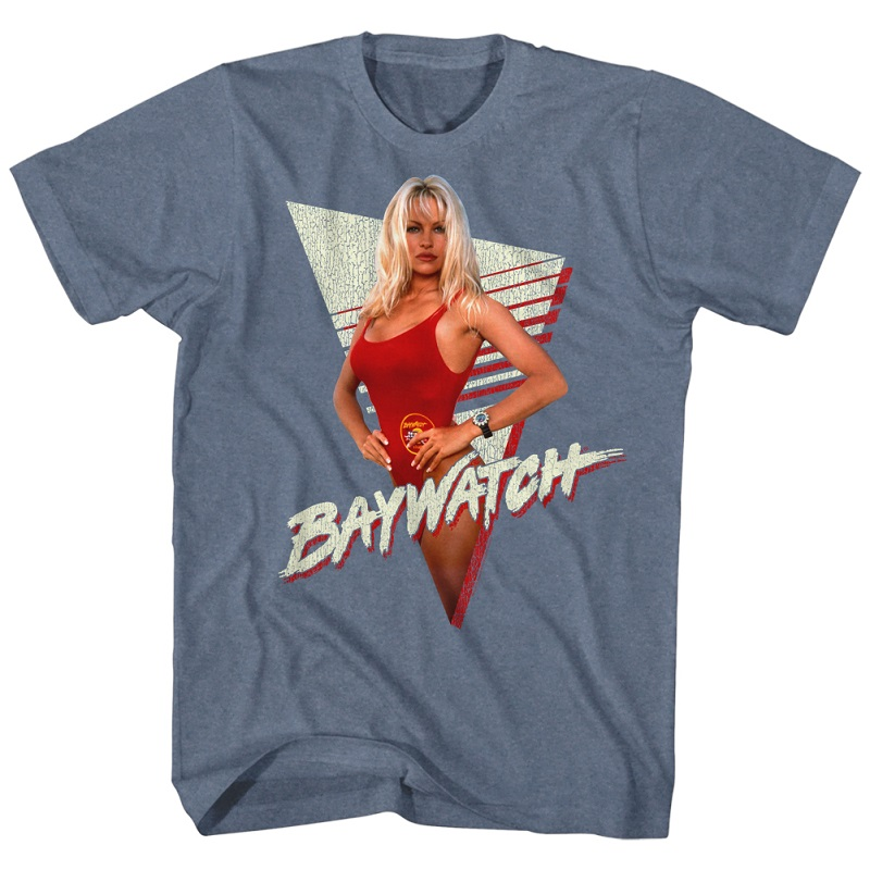 Baywatch Pam The Babe Anderson Tshirt