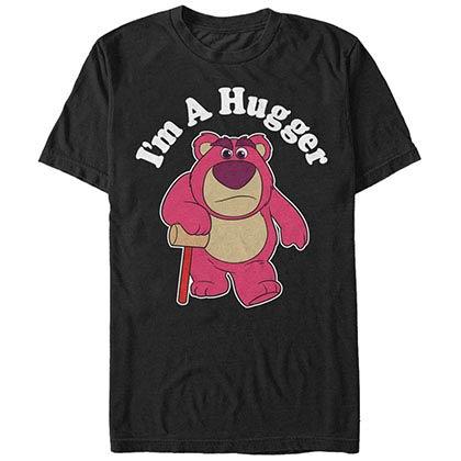Disney Pixar Toy Story 1-3 I'm A Hugger Black T-Shirt