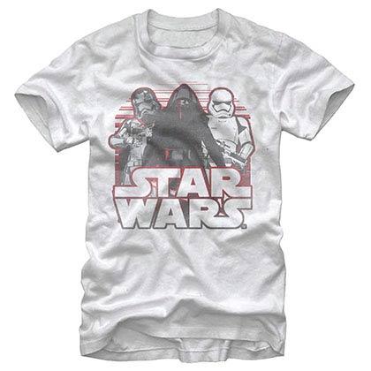Star Wars Episode 7 Onwards White T-Shirt