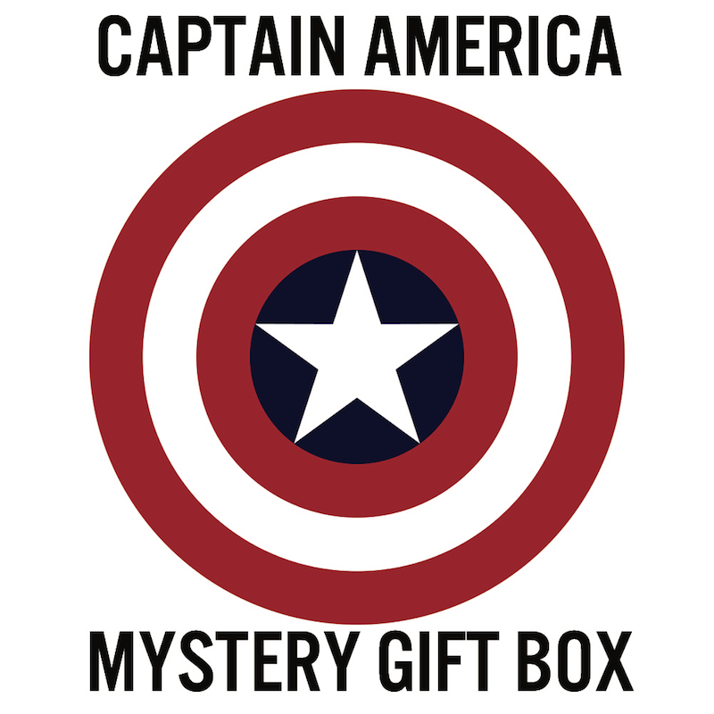 Captain America Mystery Gift Box for a Man