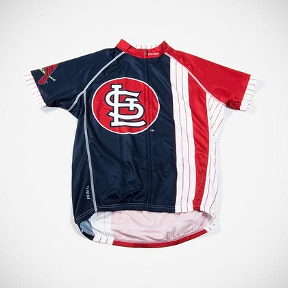 St Louis Cardinals Cycling Jersey