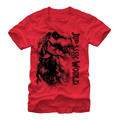 Jurassic World Da Man Red T-Shirt