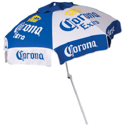 Corona Extra 8 Panel Beach Umbrella