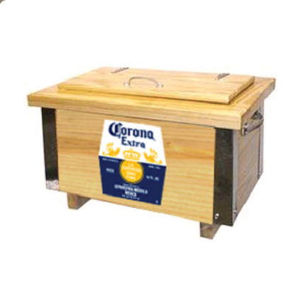 Corona Extra Wooden Ice Box