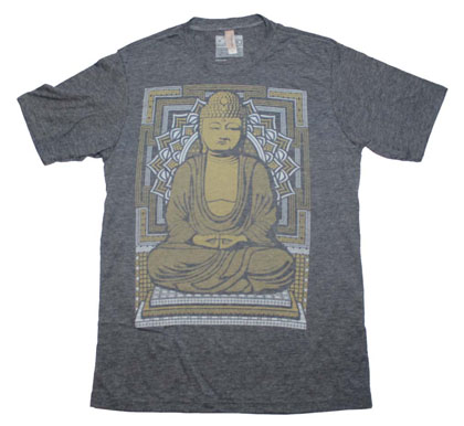 Curbside Clothing Budda Multicolor Triblend T-Shirt