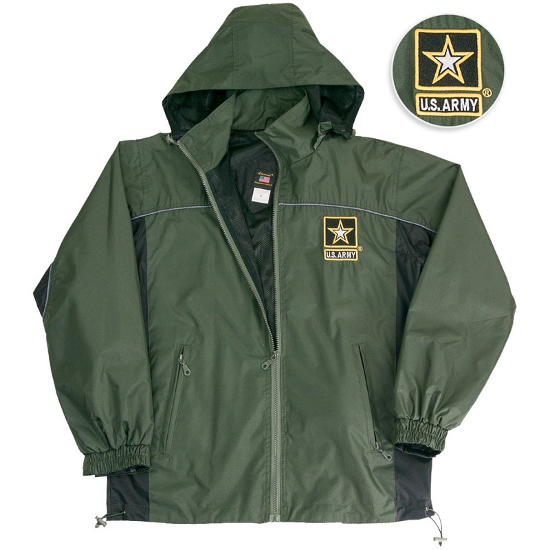 US Army Windbreaker Jacket