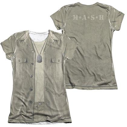 MASH Hawkeye Costume Sublimation Juniors T-Shirt