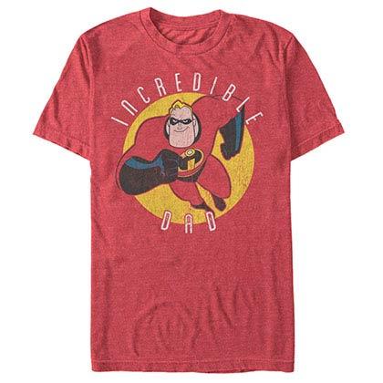 Disney Pixar The Incredibles Incredible Dad Red T-Shirt