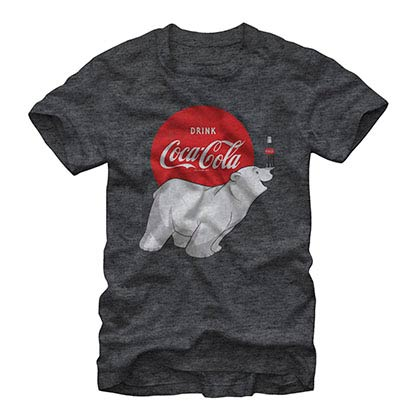 Coca-Cola Polar Gray T-Shirt