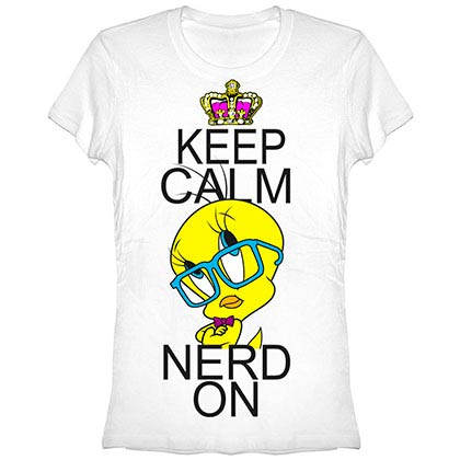 Looney Tunes Calm White T-Shirt