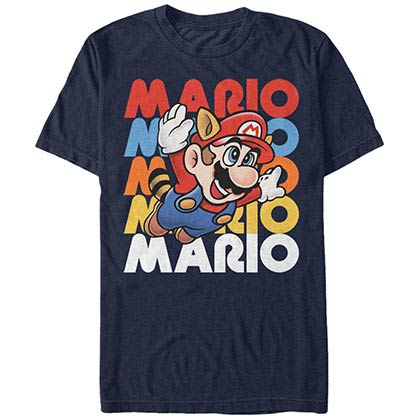 Nintendo Flying Free Blue T-Shirt
