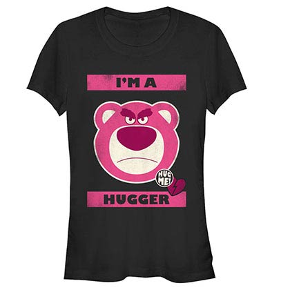 Disney Pixar Toy Story 1-3 Hugger Black T-Shirt