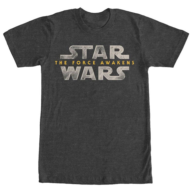 Star Wars Episode 7 Force Lawgo Gray T-Shirt