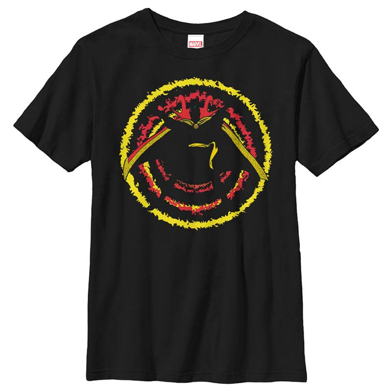 Dr. Strange Radial Power Black Youth T-Shirt