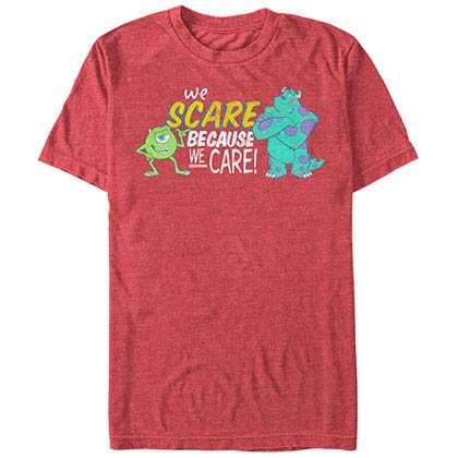 Disney Pixar Monsters Inc University Caring Red T-Shirt