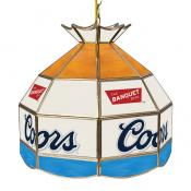 Coors Stained Glass Tiffany Lamp (FREE SHIPPING)