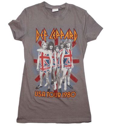 Def Leppard U.S. Tour Junior's T-Shirt