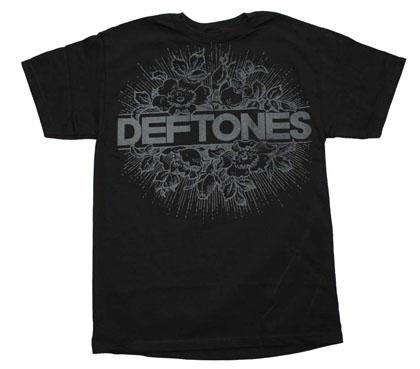 Deftones Floral Burst T-Shirt
