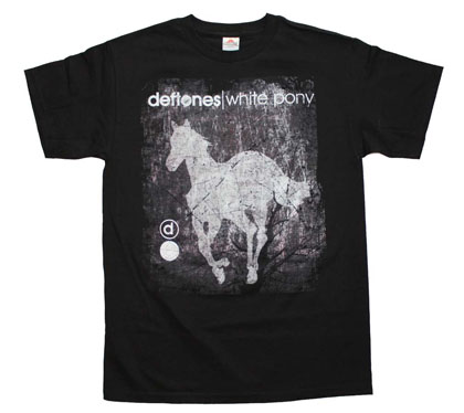 Deftones Scratch Pony T-Shirt