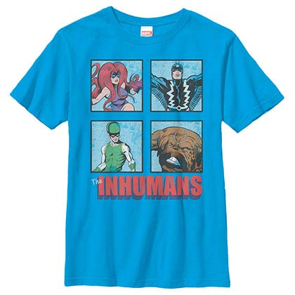 Marvel Teams Royals Blue Youth T-Shirt