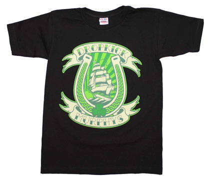 Dropkick Murphys Horseshoe T-Shirt
