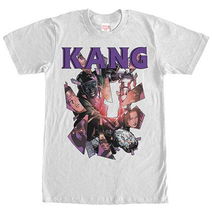 Marvel Teams Kang Conquers White Mens T-Shirt