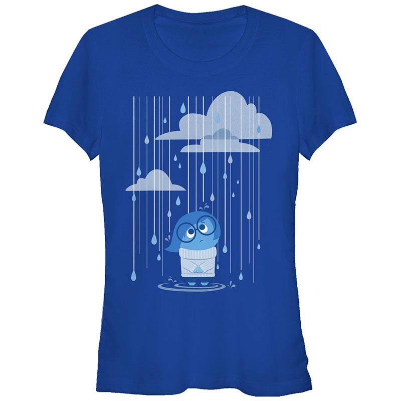 Disney Pixar Inside Out Rain Rain Blue T-Shirt