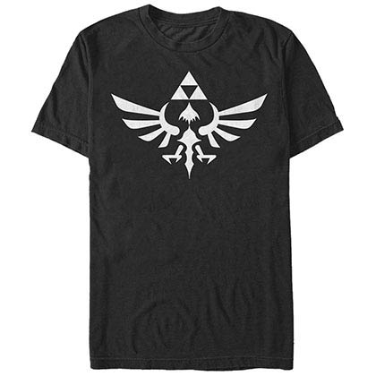 Nintendo Triumphant Triforce Black T-Shirt