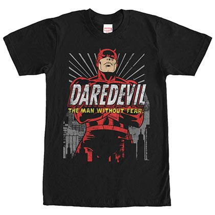 Daredevil Dare You Black Mens T-Shirt